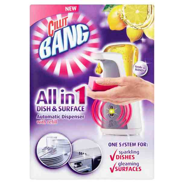 Cillit Bang All-in-One Dish & Surface Cleaner