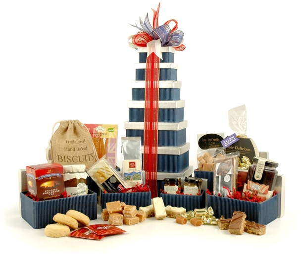 Win this gorgeous Hampergifts.co.uk Great British Hamper Tower