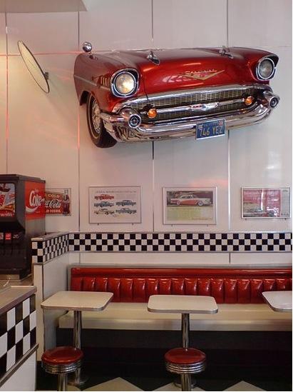 Get that diner feel!
